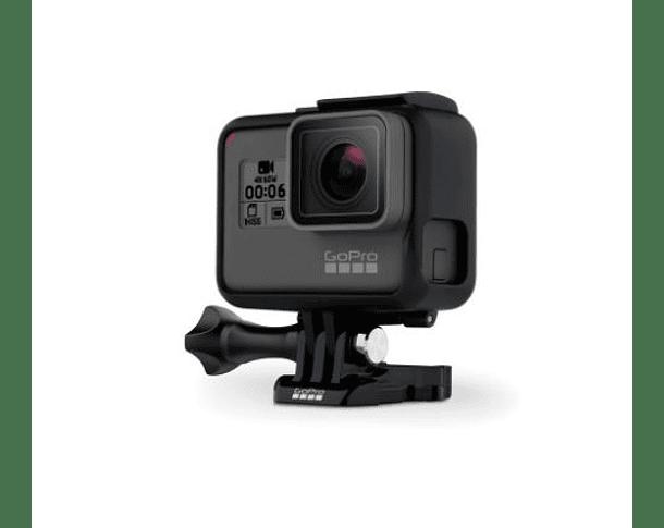 GoPro Hero 6 Black + Baston con Clip para Celular + Memoria 32GB