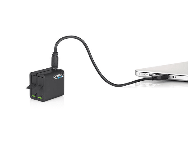 Cargador Doble de Bateria + Bateria para Hero 4