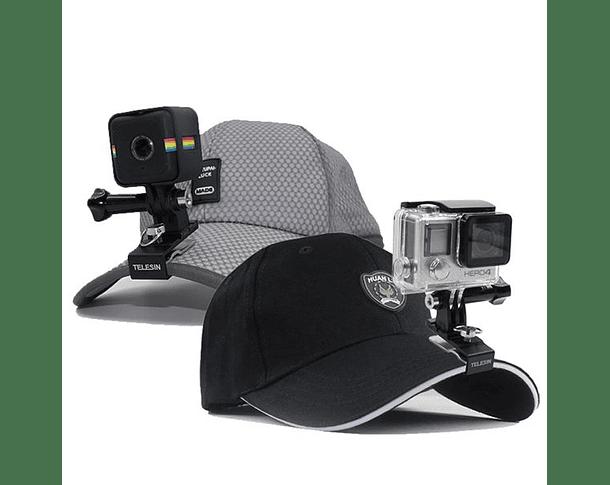 Clip soporte de Gorra para GoPro