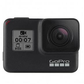 GoPro Hero 7 Black + Micro SD 32GB Ultra + Bastón Telesin