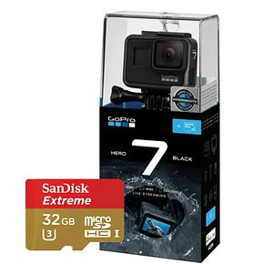 GoPro Hero 7 Black + Micro SD 32GB Extreme
