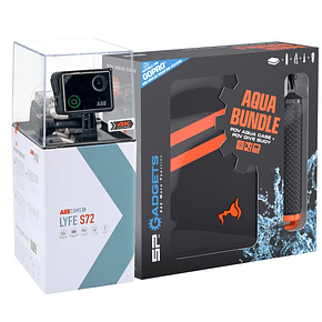 AEE LYFE S72 4K + Kit Aqua Bundle + Micro SD 16GB Ultra