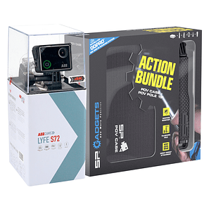 AEE LYFE S72 4K + Kit Action Bundle + Micro SD 16GB Ultra