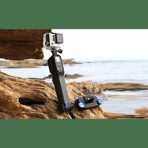 Combo Baston ProGrip + Strap Mount PolarPro para Mochila