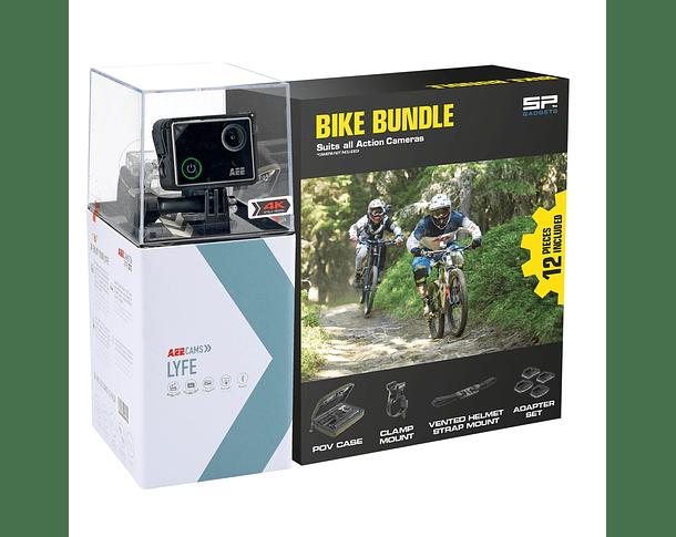 AEE LYFE S72 4K + Kit Bike Bundle + Micro SD 16GB Ultra