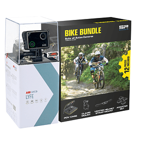 AEE LYFE S72 4K + Kit Bike Bundle + Micro SD 16GB Ultra