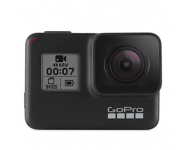 GoPro Hero 7 Black + MicroSD 32GB Extreme + Bastón Trípode