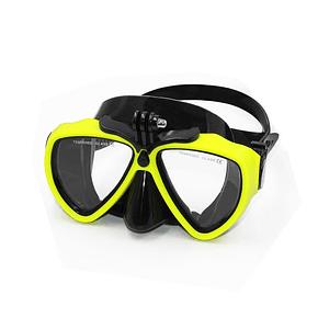 Máscara de Buceo Amarilla para GoPro