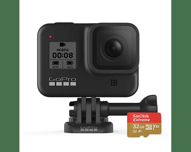 GoPro Hero 8 Black + MicroSD 32GB