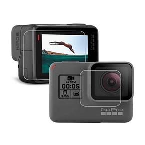 Vidrio Protector de lente y pantalla GoPro Hero 7