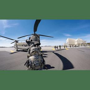 Placa de Montaje Casco Militar NVG