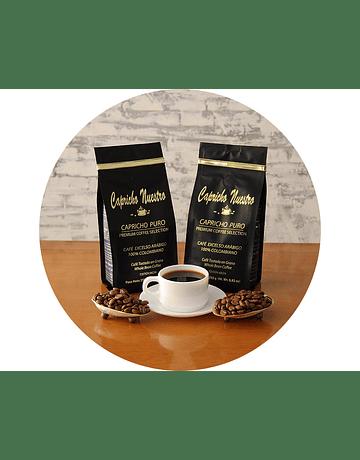 Café Puro en Grano x 2 250g c/u