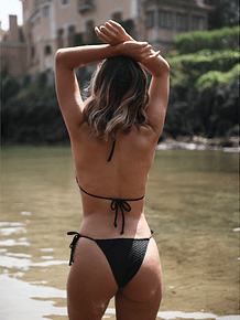 CAPRI in black texture - BOTTOM