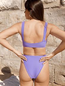 VENICE in purple stripes - TOP