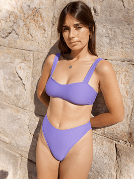 VENICE in purple stripes - BOTTOM