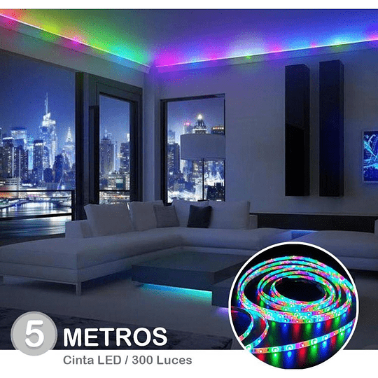 LUCES LED 5M RGB