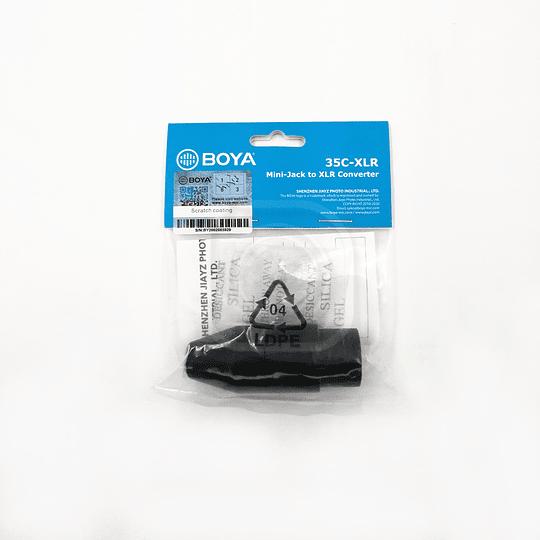 ADAPTADOR MINI-JACK 3.5mm A XLR DE 3.5mm