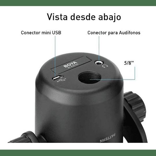 Microfono de escritorio USB Multi Patrón