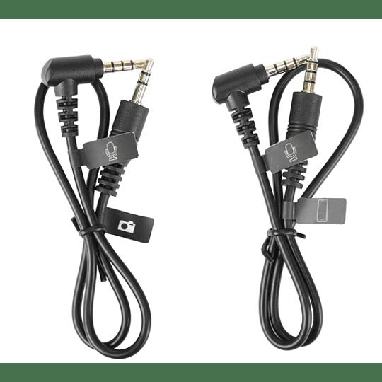 **SIN CAJA** Micrófono Cardioide Para Cámaras Y Smartphones – Versión Mejorada BY-MM1+