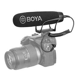Micrófono Cardioide Para Cámaras Y Smartphone BY-BM2021