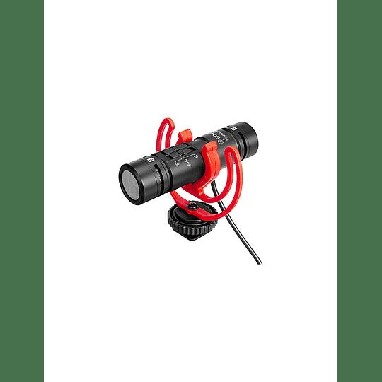 Micrófono Bidireccional Con Salida De Audífonos Boya BY-MM1 PRO