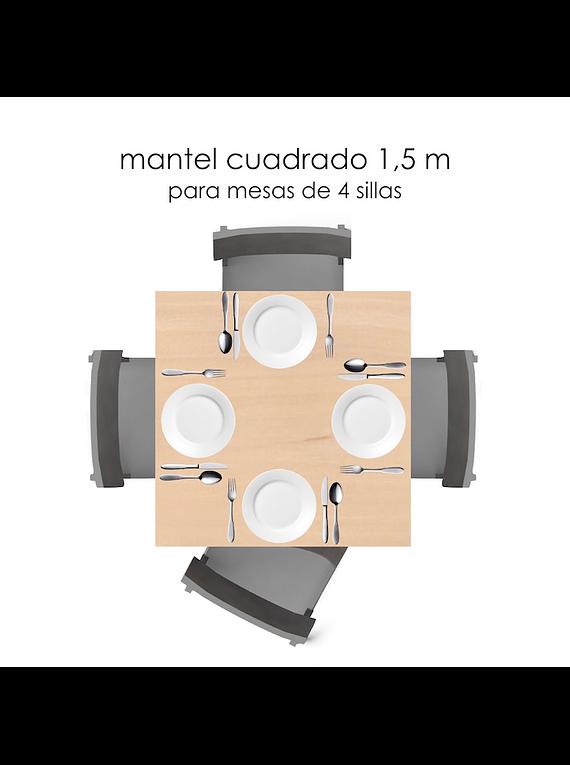 Saldo 18 manteles Cuad 150 cm - Pedido Patricia Gandarillas