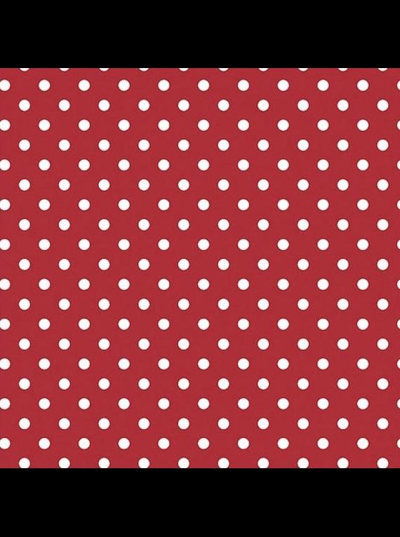 Lunares en Rojo