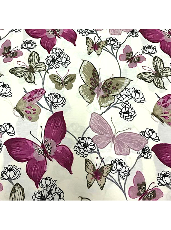Mariposas Acuarela Lila