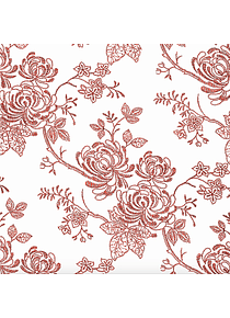 Floral Amandina Burdeos