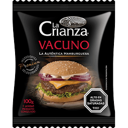 Hamburguesa de Vacuno (100 g.)