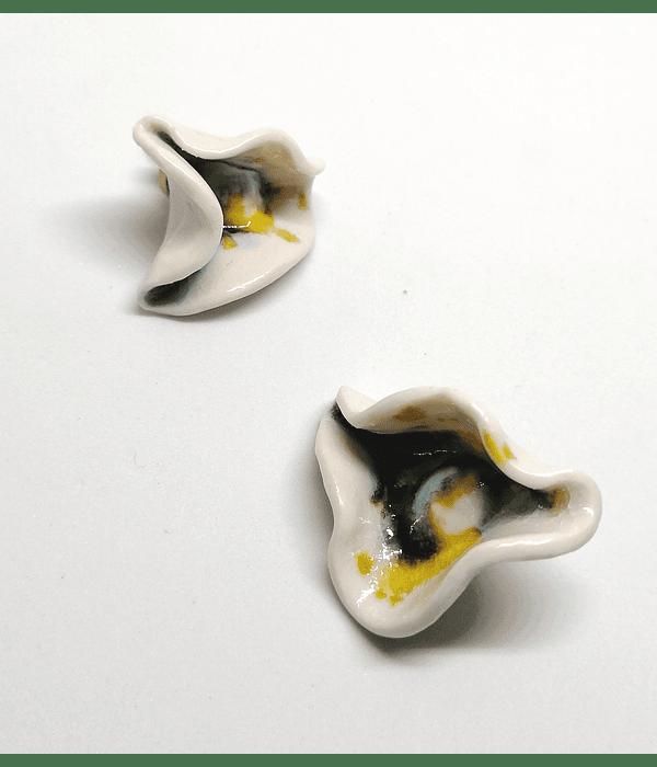 Aros porcelana marchito