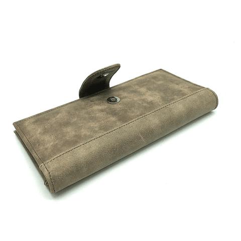 Billetera Chequera de cuero ANGIE-C