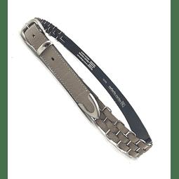 7989-ARENA  Cinturón de Cuero