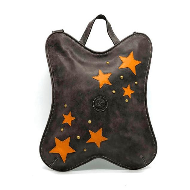 JESSIA mochila de cuero(8037)
