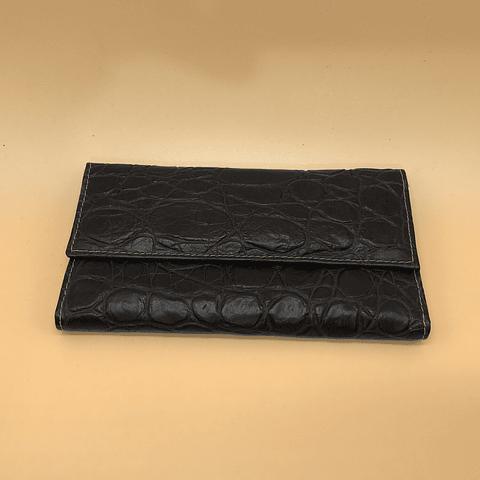 Billetera Chequera de cuero YENNY