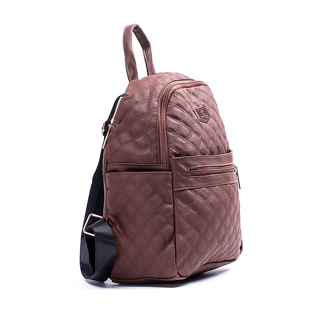 Mochila Square Brown