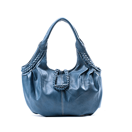 Cartera Braid Azul