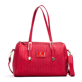 Cartera Halina Rojo