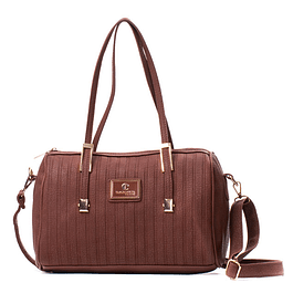 Cartera Halina Brown