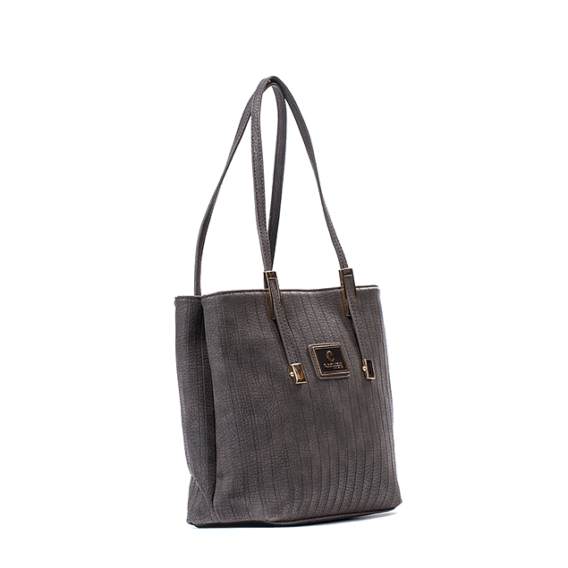 Cartera Mom Chic Gris