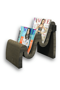 CURVE MAGAZINE RACK
