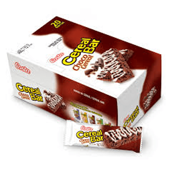 CEREAL BARRA CHOCO CEREAL 20X18 GR