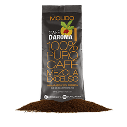 CAFE MOLIDO DAROMA EXCELSO 250 GR