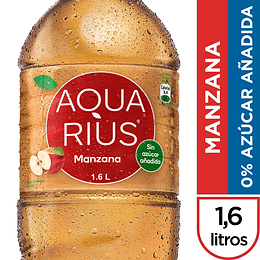 AGUA AQUARIUS MANZANA PET 1.6 LT