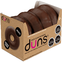 DONUTS CHOCOLATE 32 UNID
