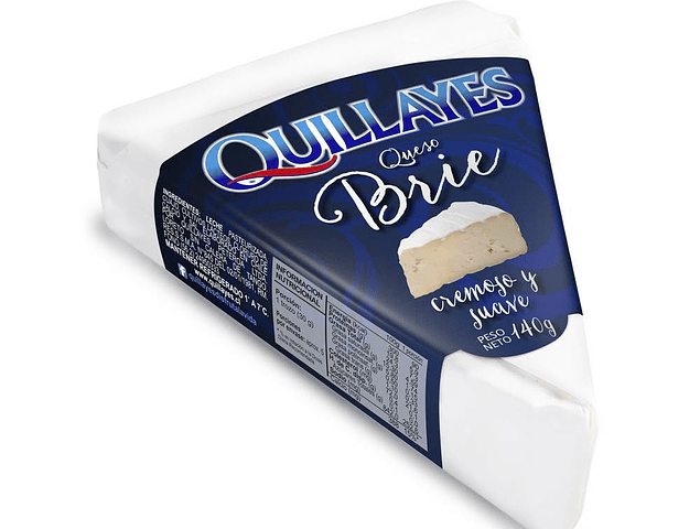 QUESO BRIE QUILLAYES 140 GR