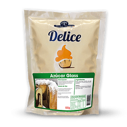 AZUCAR DELICE GLASS 500 GR