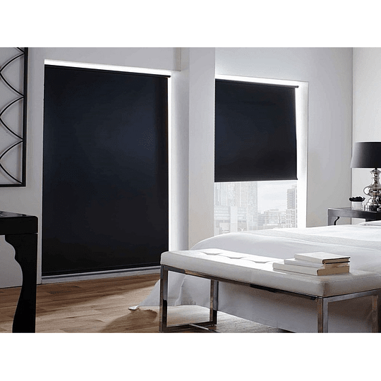 Cortina Roller Black Out 150cm x 250cm