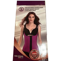 Chaleco de cintura ajustable para el hombro de mujer