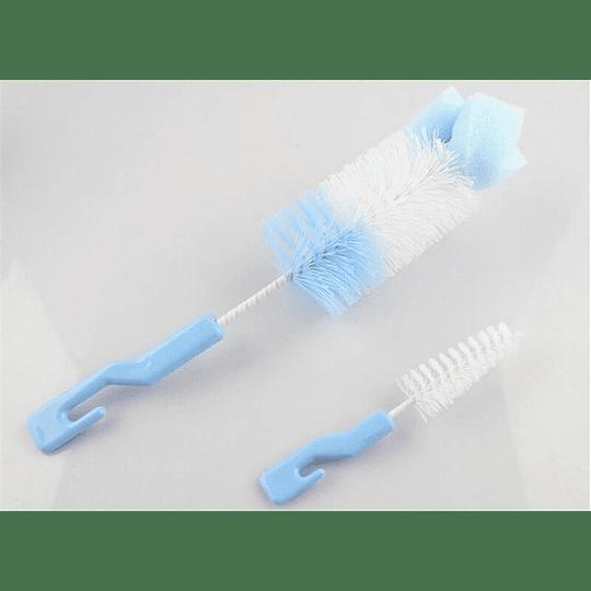 Cepillo Para Biberón Con Esponja Para Bebé
